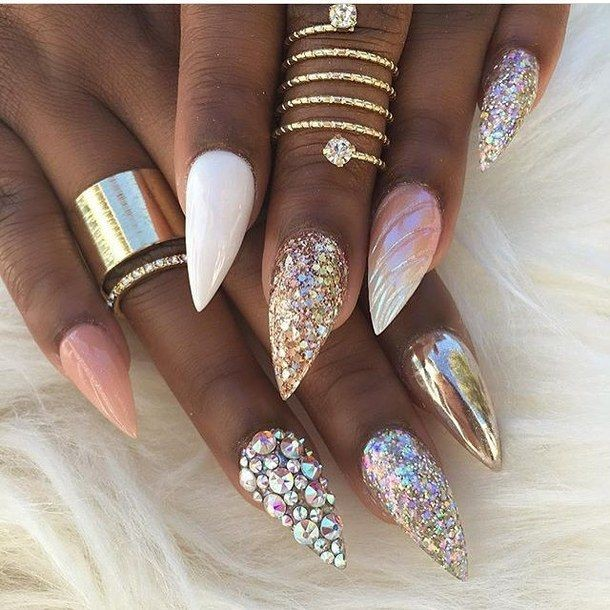 Stiletto S The Hottest Nail Designs Everyone Is Wearing